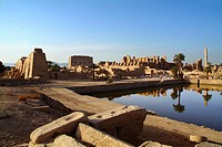 Temple of Karnak, Luxor, Egypt.