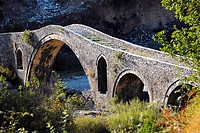 Ancient bridge of Mesi, Northern Albania