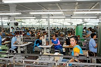 Textile factory in Shkoder, Albania