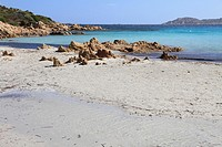 Smerald coast Principe cove in Arzachena Olbia province Sardinia island Italy