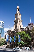 Australia, New South Wales, Sydney, View of town hall