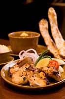 Chicken malai Indian chicken dish