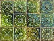 Portuguese glazed tiles 071