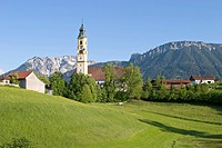 Church in Pfronten _ Allgaeu _ Germany