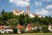 Monastery castle Kastl , Upper Palatinate , Bavaria Germany