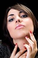 temptress brunette
