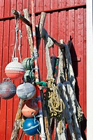 Lofoten nets and other fishing equipment