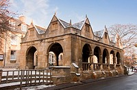 THE MARKET PLACE IN CHIPPING CAMPDEN GLOUCESTERSHIRE UK