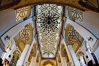 cathedral´´s interior, Zamosc, Poland