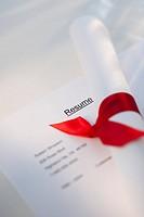 Diploma on resume