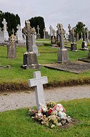 Irish cemetery in Birr, County Offaly, Midlands, Republic of Ireland, Europe
