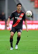 Michael Ballack, qualifying football match for UEFA Champions League 2010/2011, Bayer Leverkusen 3, Tavriya Simferopol 0