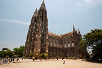 India, Karnataka, Mysore, Cathedral of St. Philomena