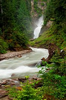 Canada, British Columbia, Glacier National Park, Bear Creek Falls