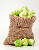 Brussels sprouts in a bag