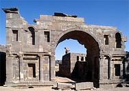 Syria, Bosra, Nabatean Gate,
