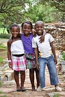 bambini, credo mutwa cultural village, soweto, johannesburg, sudafrica