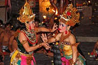 Kecak dance, Bali, Indonesia, Southeast Asia