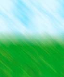 grass sky blur