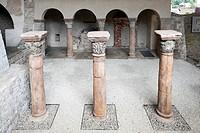 Sola Basilica, Solnhofen, Altmuehltal region, Middle Franconia, Franconia, Bavaria, Germany, Europe
