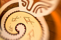 French Polynesia. Polynesian design. Credit: Wendy Kaveney / Jaynes Gallery / DanitaDelimont.com