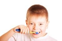 Teeth brushing kid