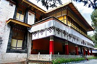 Palace of the Dalai Lamas Norbulingka summer palace Lhasa Tibet China