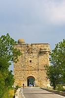 Tour Carbonniere, Aigues-Mortes. Petite Camargue, Gard, Languedoc-Roussillon, France