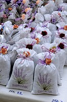 Croatia, Dubrovnik  sachets of lavender