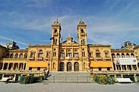City Hall, San Sebastian, Pais Vasco, Basque Country, Spain, Europe