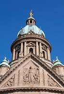 Christuskirche church, Mannheim, Baden-Wuerttemberg, Germany, Europe