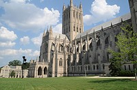 The National Cathedral in Washington DC