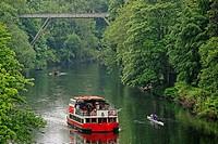 Prince Bishop boat on the River Wear, Durham, England