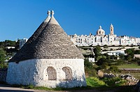 Trulli houses, Locorotondo, Puglia, Italy