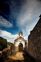 Church ruins. Cadiz province, Andalusia, Spain