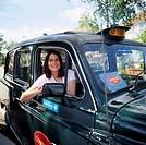 Female London cabbie  Image by Shaun Higson