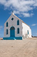 Church on the beach, Sal, Pedro Da Sal, Cabo Verde, Cape Verde, Africa