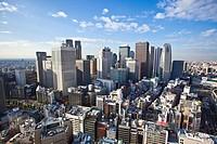 Tokyo City, Shinjuku District.