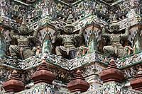 Wat Po Temple, Bangkok, Thailand, Asia