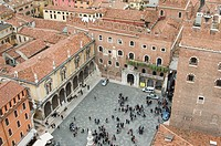 Verona, Signori square.