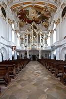 Roggenburg Abbey, Premonstratensian canonry in Roggenburg, training centre, Neu-Ulm district, Bavaria, Germany, Europe