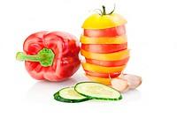 Fresh vitamin background