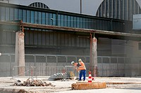 Stuttgart 21 building project, building ground of the demolished north wing of Stuttgart station, Stuttgart, Germany, Europe