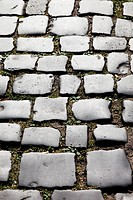 Ancient cobblestones