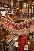 Bookshop, Lello & Irmao, Porto, Portugal, Europe