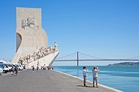 Padrão dos Descobrimentos, Monument to the Discoveries, Belém, Lisbon, Portugal, Europe