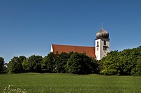 The Church of the Passion of Christ, am Durchblick district, Obermenzing, Munich, Bavaria, Germany, Europe