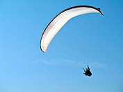 White Paraglide