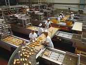 Adult, Baker´S Shop, Baker´S Shops, Bakery, Baking, Baquette Bread, Bread, Breadmaking, Breads, Caucasian, Conveyor Belt, Econom