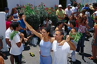 Fiesta de la Rama, Agaete, Gran Canaria, Canary Islands, Spain